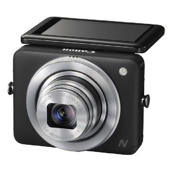 佳能 PowerShot N 数码相机(1210万有效像素 2.8英寸上翻式触摸屏)
