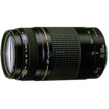 佳能(Canon) EF 75-300mm f/4-5.6 III 远摄变焦镜头