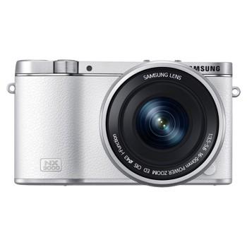 三星 NX3000 微型单电双镜头套装 (50mm-200mm )/(16mm-50mm)