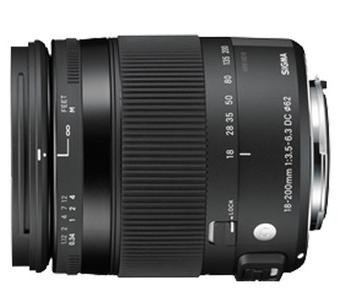 适马(SIGMA) 18-200mm F3.5-6.3 DC MACRO OS HSM (佳能/尼康卡口)