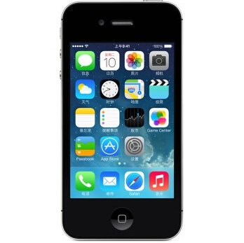 苹果(APPLE)iPhone 4S 8G版 3G手机(白色)WCDMA/GSM