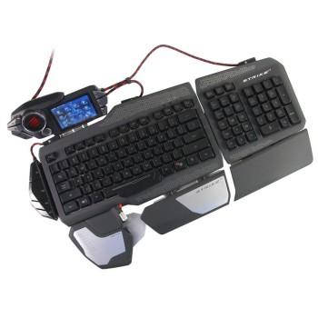赛钛客 美加狮 Mad Catz S.T.R.I.K.E.7 终结者可触摸游戏键盘