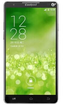 酷派 8750 3G手机(绅士黑)TD-SCDMA/GSM