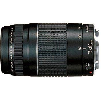 佳能(Canon) EF 75-300mm f/4-5.6 III USM 远摄变焦镜头
