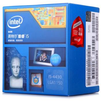 英特尔(Intel)酷睿四核i5-4430 Haswell全新架构盒装CPU